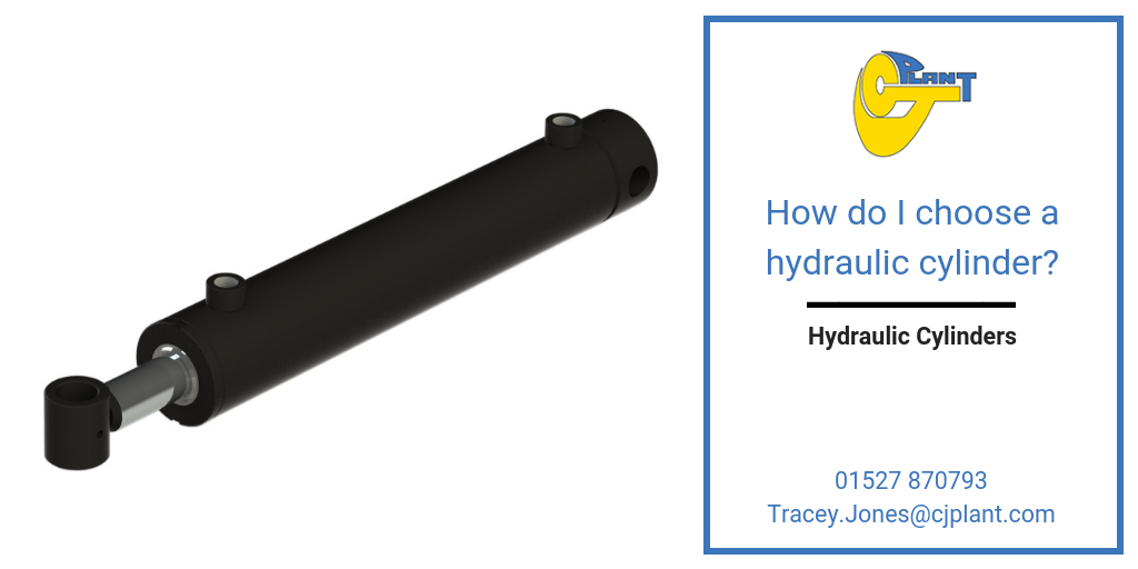 How do I choose a hydraulic cylinder