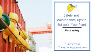Plant Machinery Rapair Importance at CJ Plant Maintenance