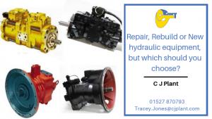 When your Hydraulic Motors break down, what should you do?
