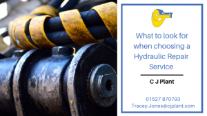 What to look for when choosing Hydraulic Repair Specialists?