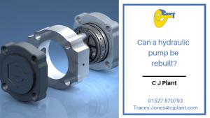 Hydraulic Pump Repair and Hydraulic Pump Rebuild