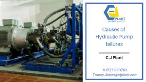 Causes of hydraulic pump failure