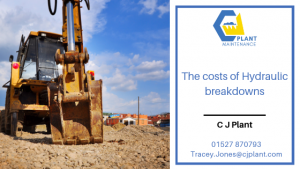 The costs of Hydraulic Breakdowns