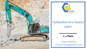 CJ Plant Hydraulics Systems in a Quarry Plant